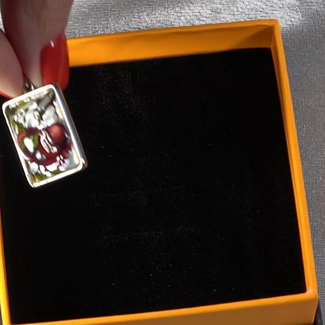 """Набор """"Гранаты"""", перламутр, ручная роспись. #перламутр #ручнаяработа #ручнаяработаназаказ #лаковаяминиатюра #роспись #росписьназаказ #jewelry"""